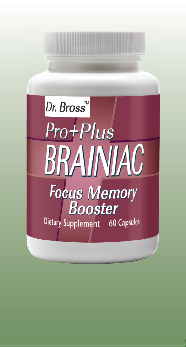 PRO+PLUS BRAINIAC Vitamins to Support the Brain